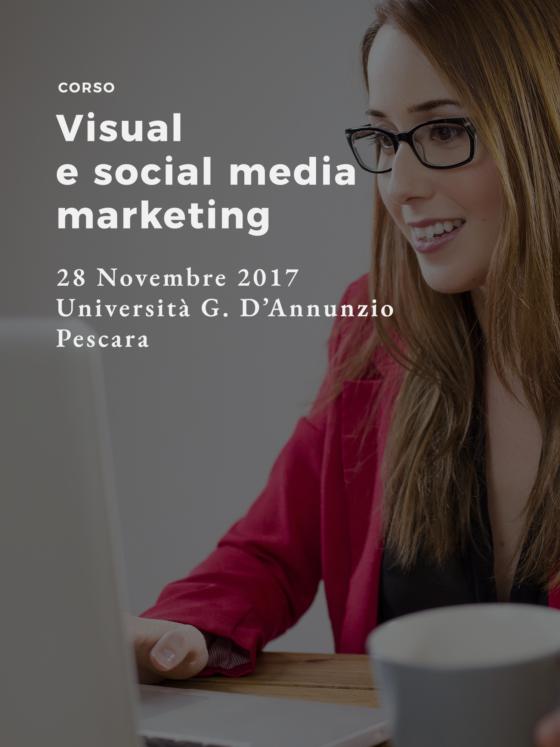 Corso Visual e Social Media Marketing