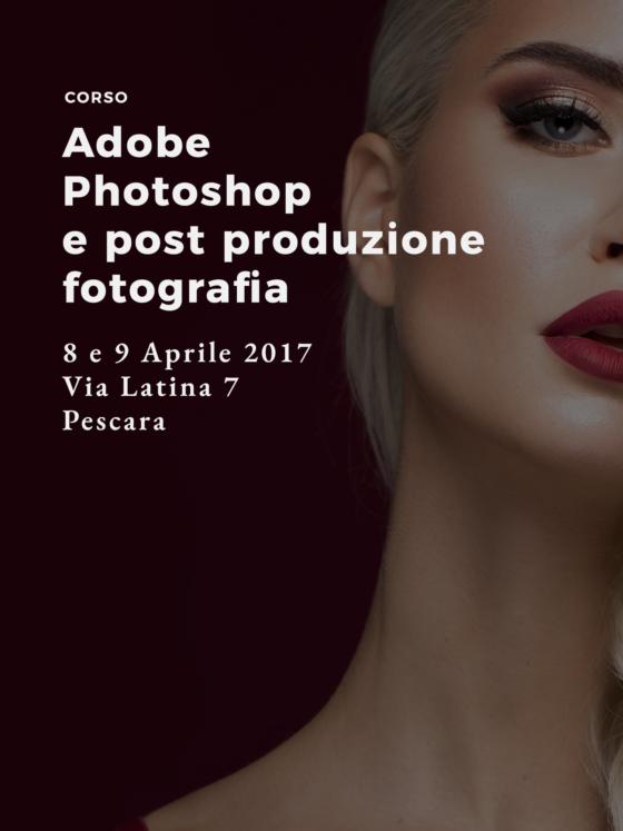 Corso Adobe Photoshop e Fotografia